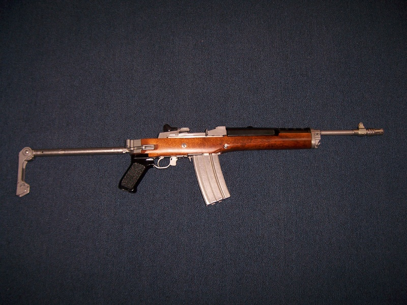 Mini-14 with new rear Tech Sight-004.jpg
