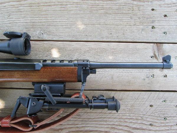 Wood stock surgery: QD attaching a Harris bipod to a Ranch rifle-photo3.jpg